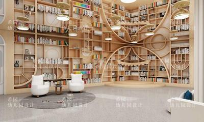 潍坊临朐县幼儿园室内设计案例