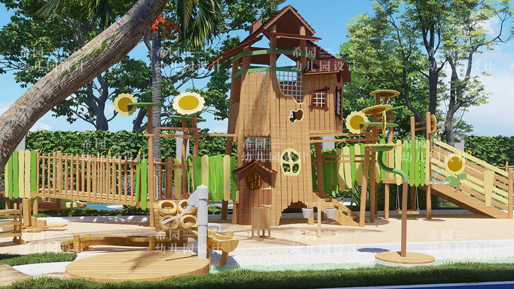 幼儿园室外空间环境设计