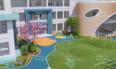 南部县幼儿园户外景观设计